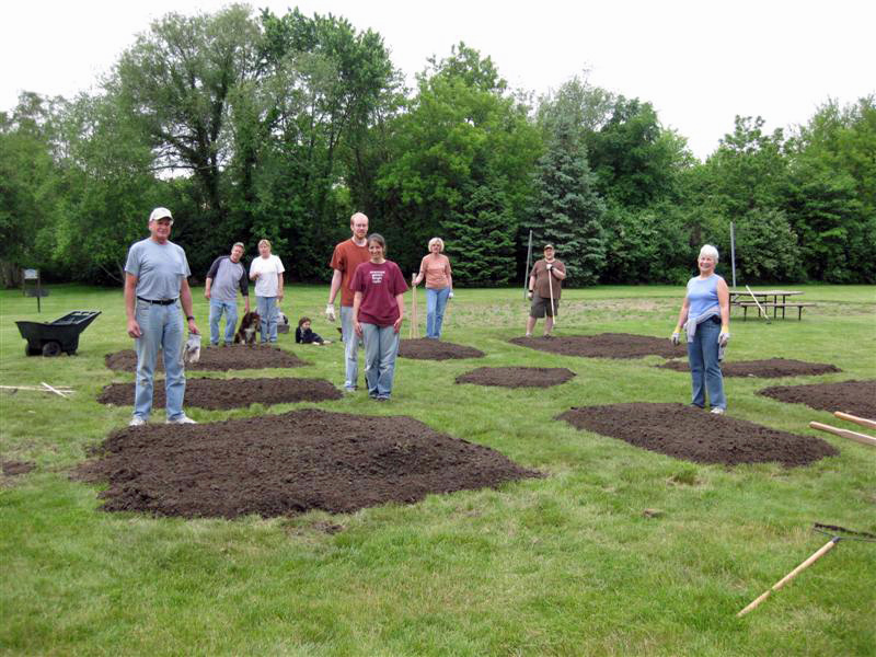Building a Brand New Community Garden