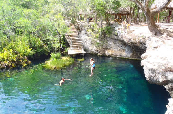 Cenote Jardin de Eden; A Garden of Eden in the Jungles of Mexico