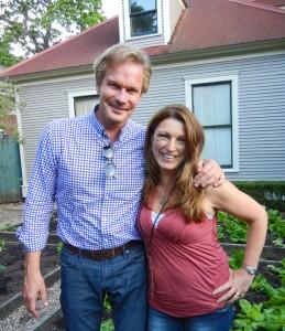 P. Allen Smith and Shawna Coronado 2012