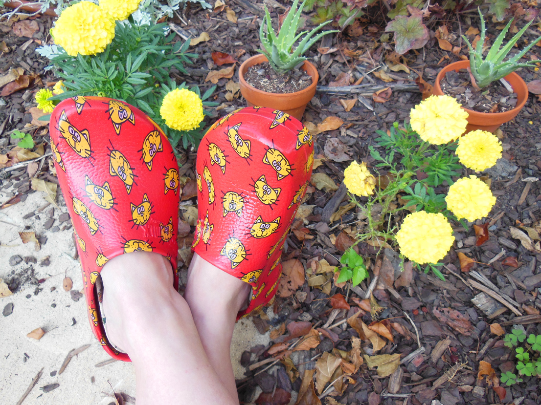 Garden Shoe Review – Super Birki Rescues Old Ladies With Cat Love