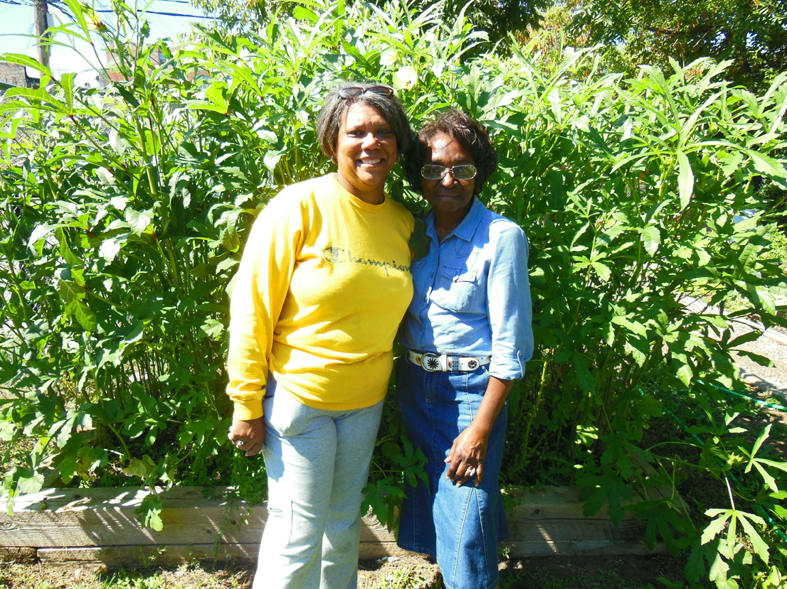 Pamela McCarroll and Juanita Love