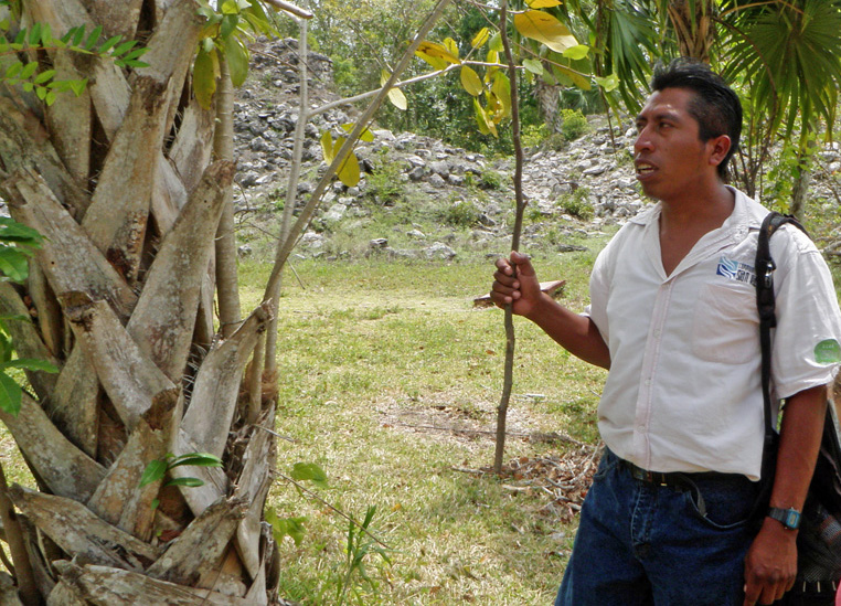 Antonio, the Mayan Guide from Sian Kaan