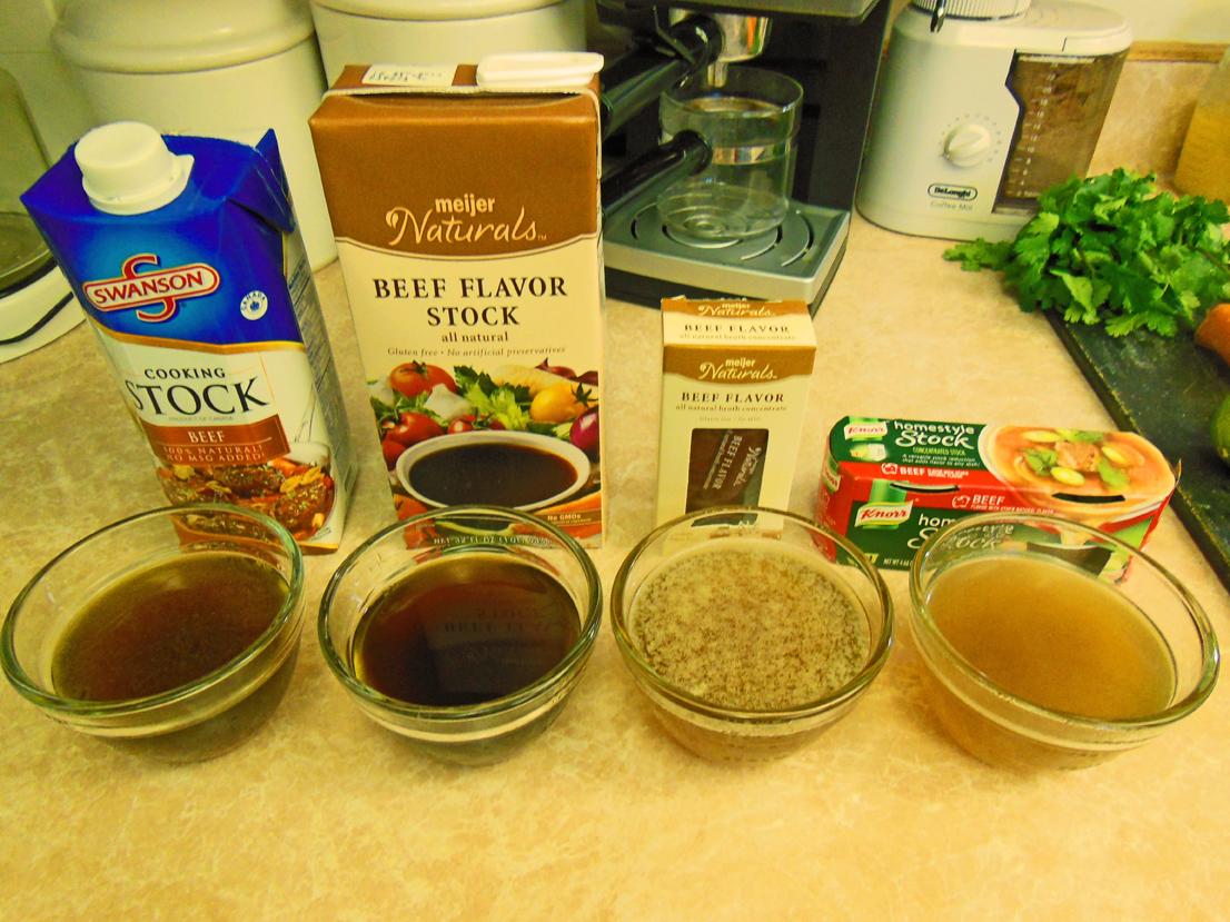 Beef Broth Taste Test Shawna Coronado