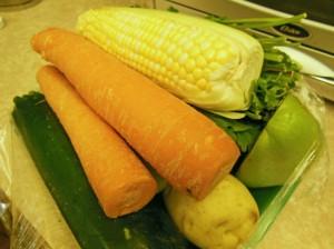Beef vegetable soup vegetable pack