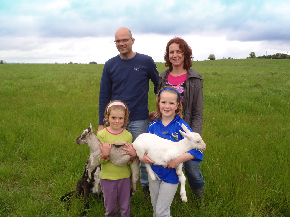 Irish Goat Farm Jan and Monique