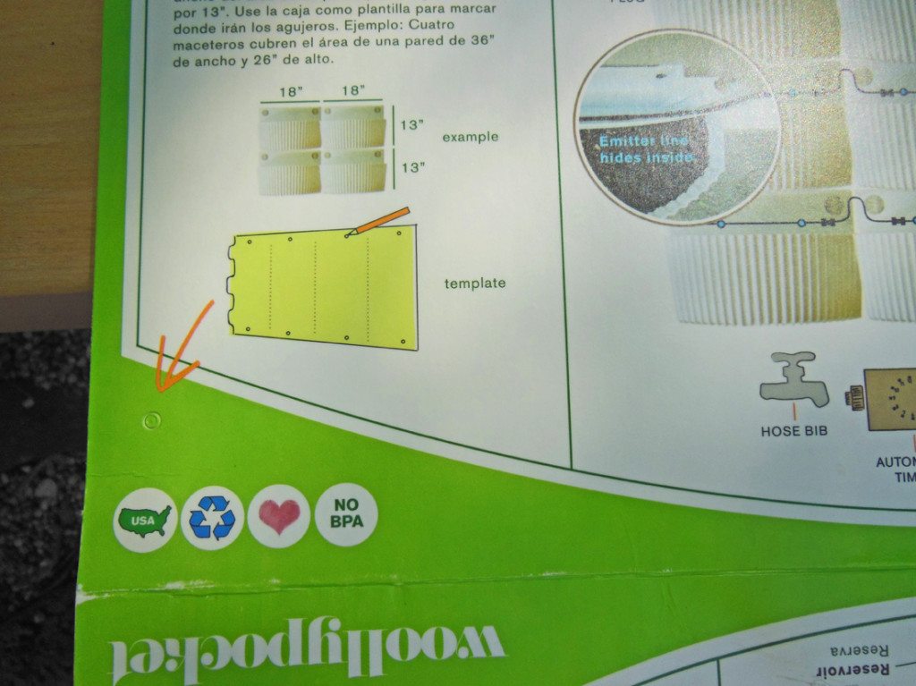 Living Wall Planter Instructions