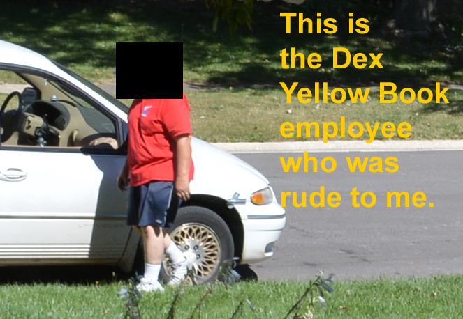 Dex Yellow Pages Rude Employee 2