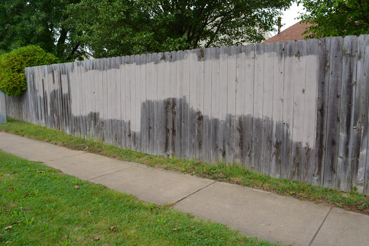 The Graffiti Experiment Please Help Save My Fence