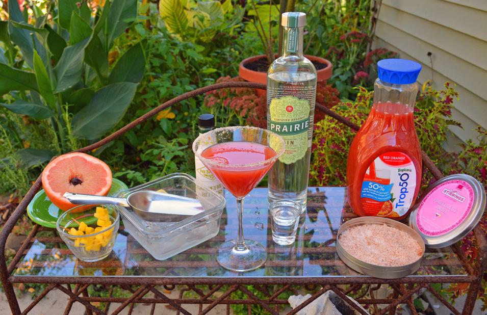 The Shawna Martini Ingedients