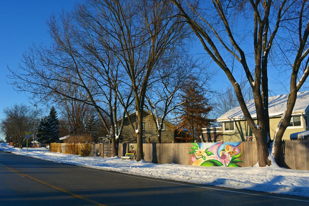 Shawna Coronado Graffiti Experiment Snow Photo