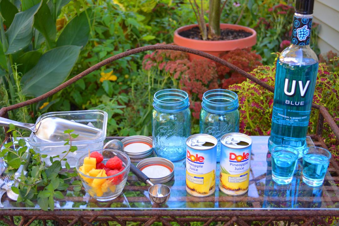 Blue Balls Cocktail Ingredients