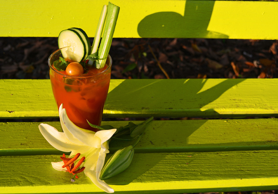 Cilantro Cucumber Garden Sipper Cocktail Recipe – A Light Bloody Mary