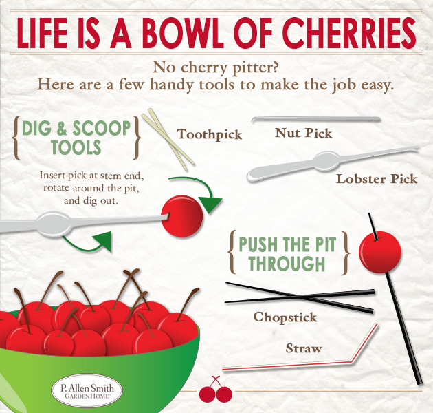 Life is a bowl of cherries infographic