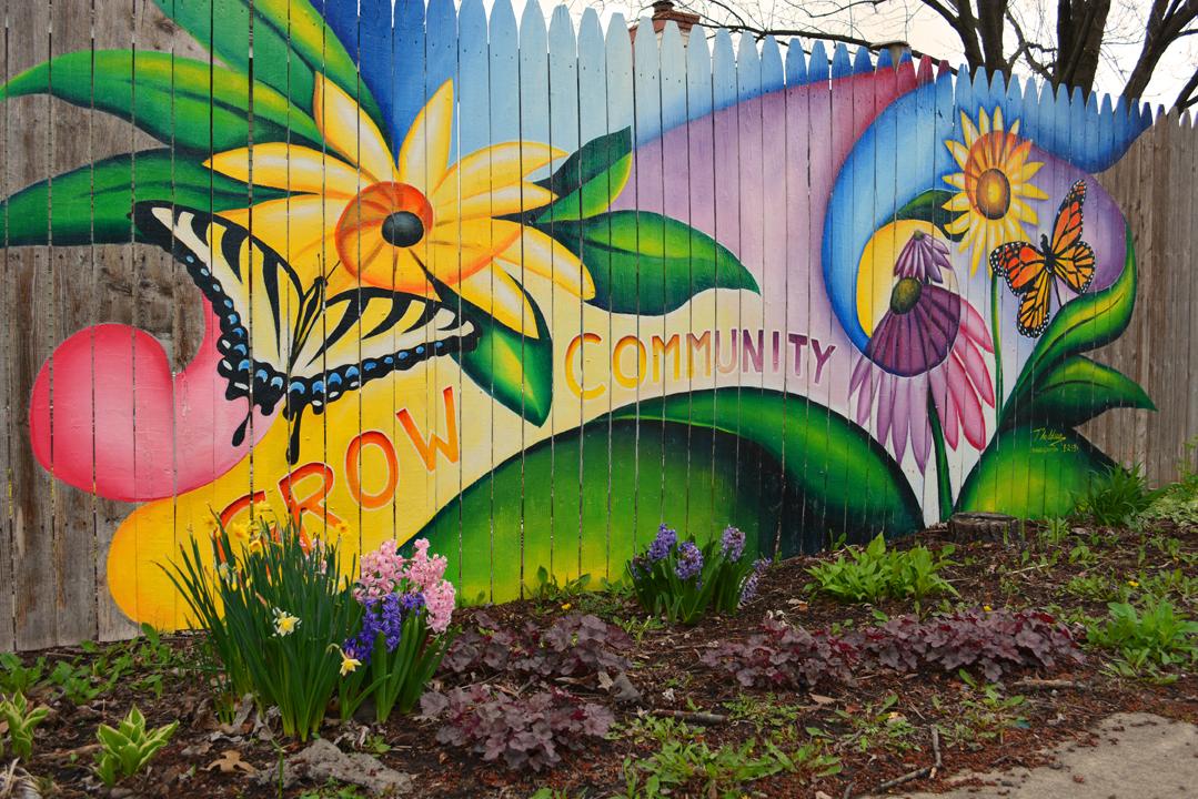 Graffiti Fence Shawna Coronado