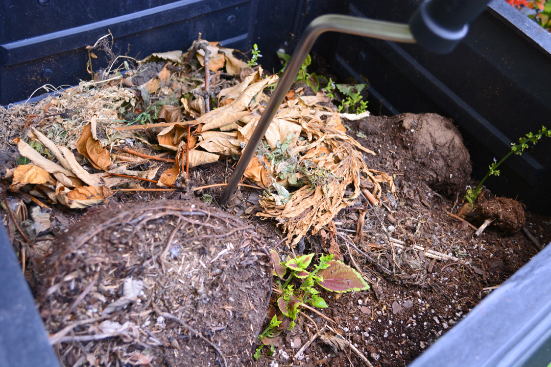 Compost Crank in Action