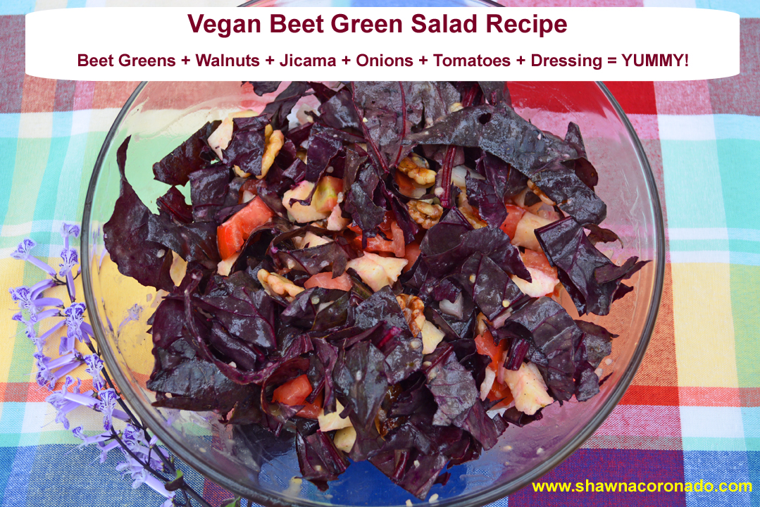 Beet Green Salad Recipe