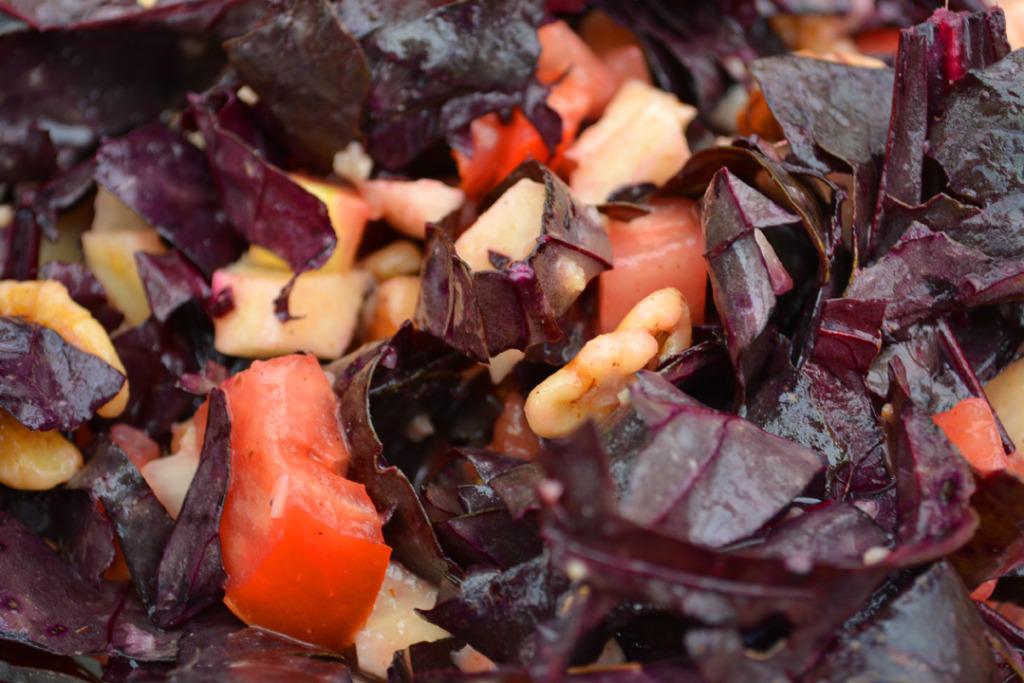 Vegan Beet Green Salad Vegan Recipe