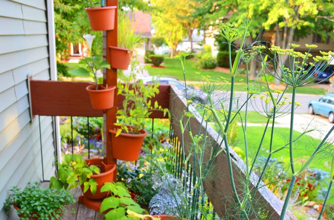 How to Plant a Garden Post Vertical Garden