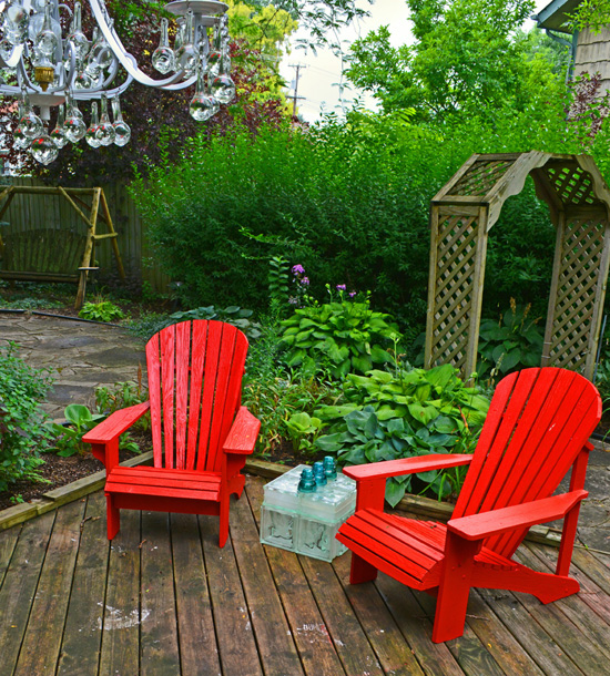 Outdoor Potting Bench Garden Room Chairs and Seating