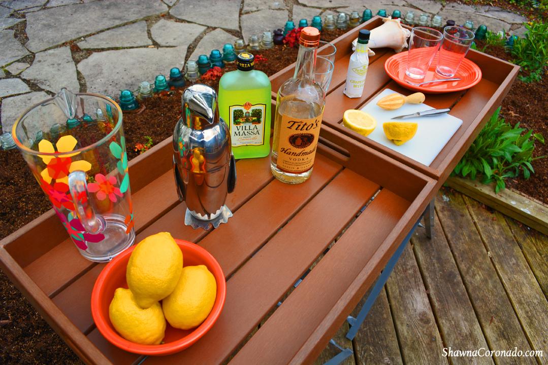 Backyard Makeover Garden Potting Room Portable Bar
