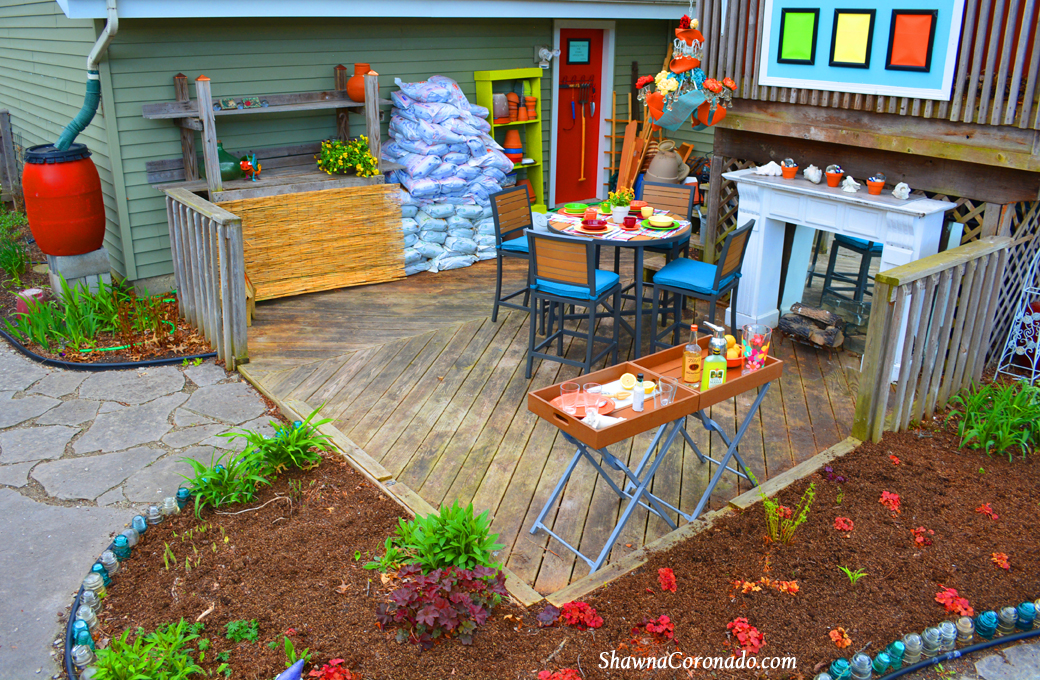 Backyard makeover garden potting room before and after for Garden makeover ideas