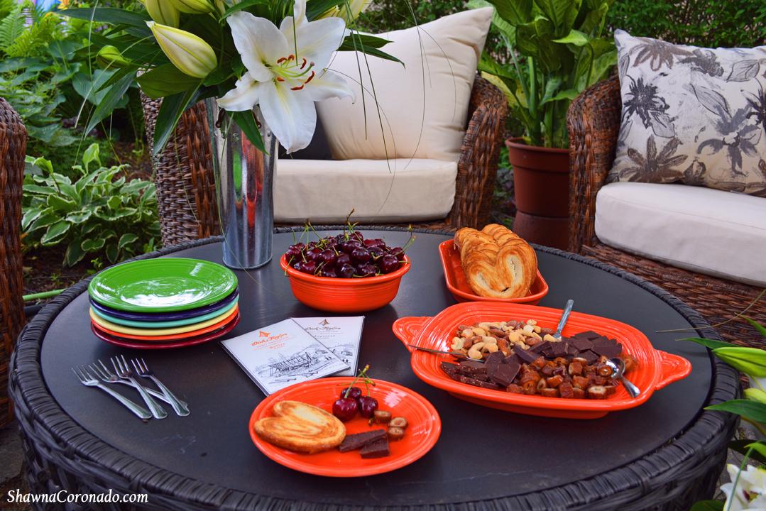 Backyard Garden Room Patio Makeover Fiestaware Dinnerware with F