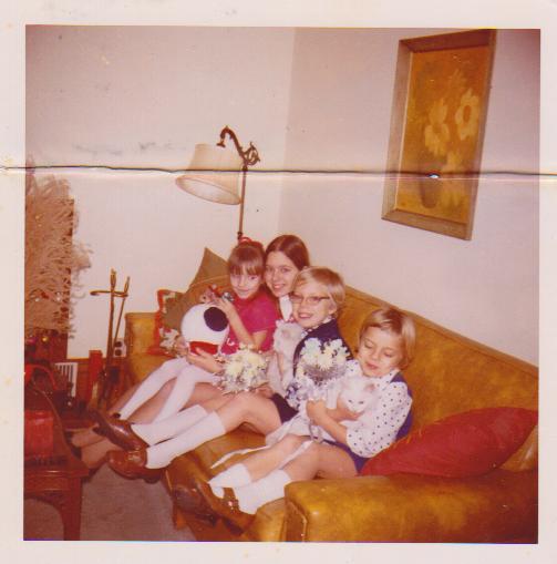 Shawna Barb Marti and Dianna 1969