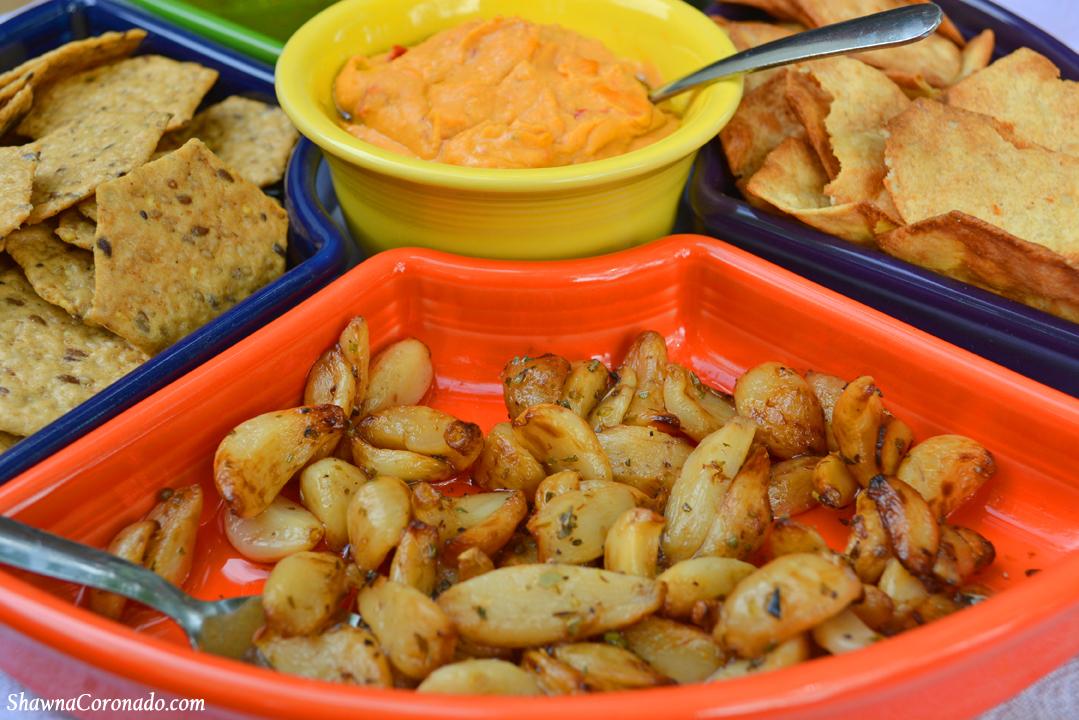 Fiestaware Entertainment Set with Roasted Garlic