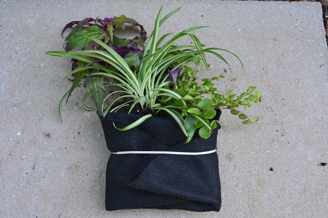 Freestanding Entrance Garden Felt Pocket