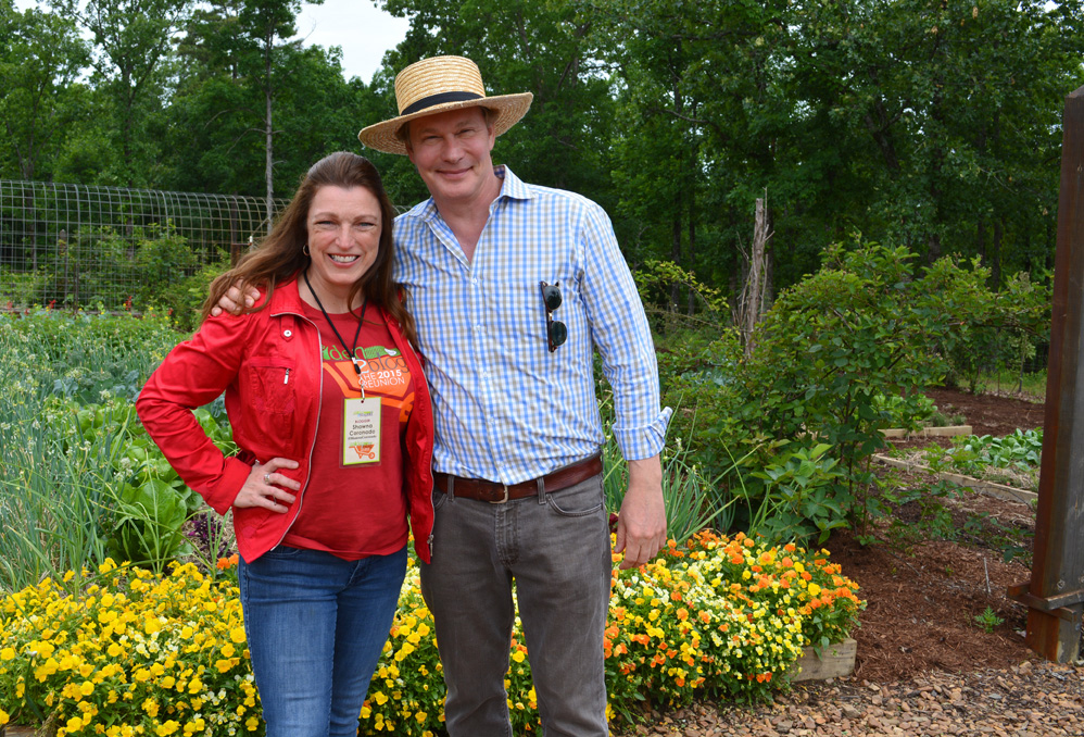 P Allen Smith and Shawna Coronado 2015