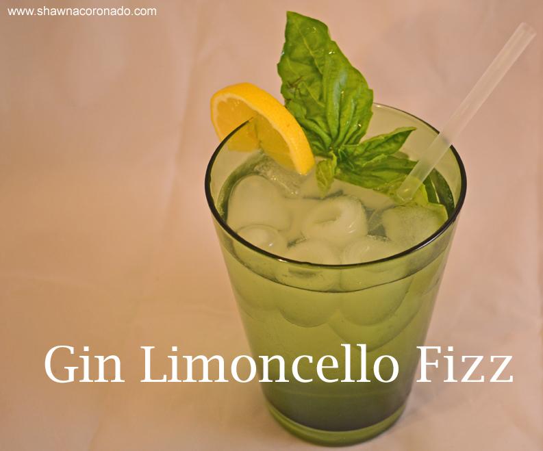 Gin Limoncello Fizz Title 2