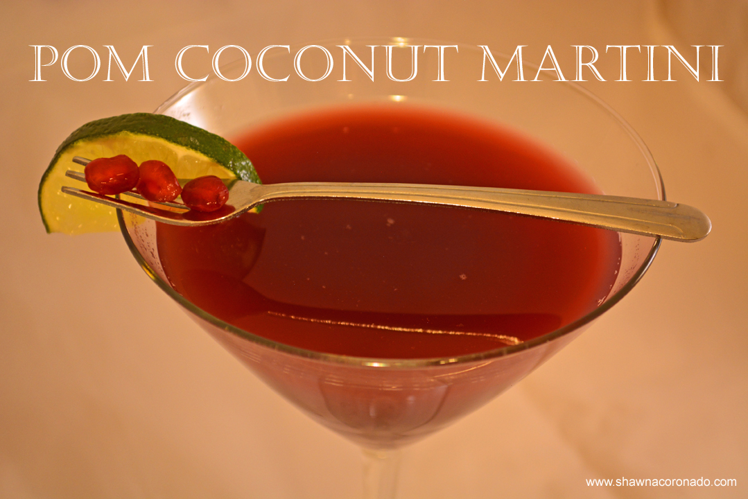 Pom Coconut Martini Recipe