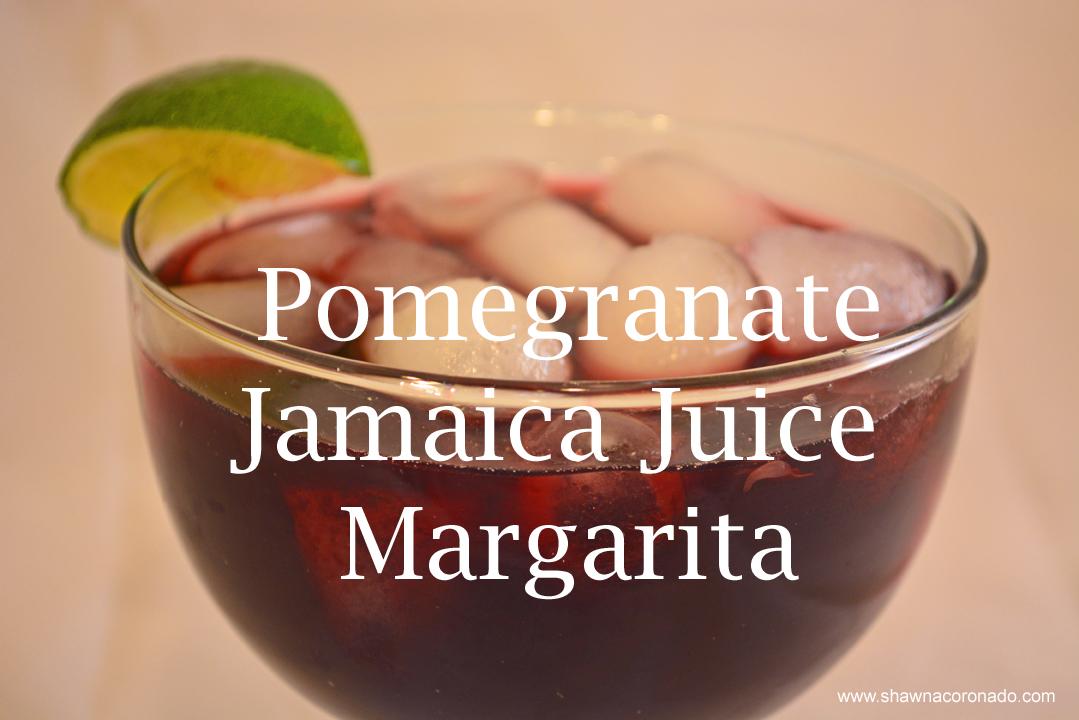 Pomegranate Jamaica Juice Margarita Recipe 2