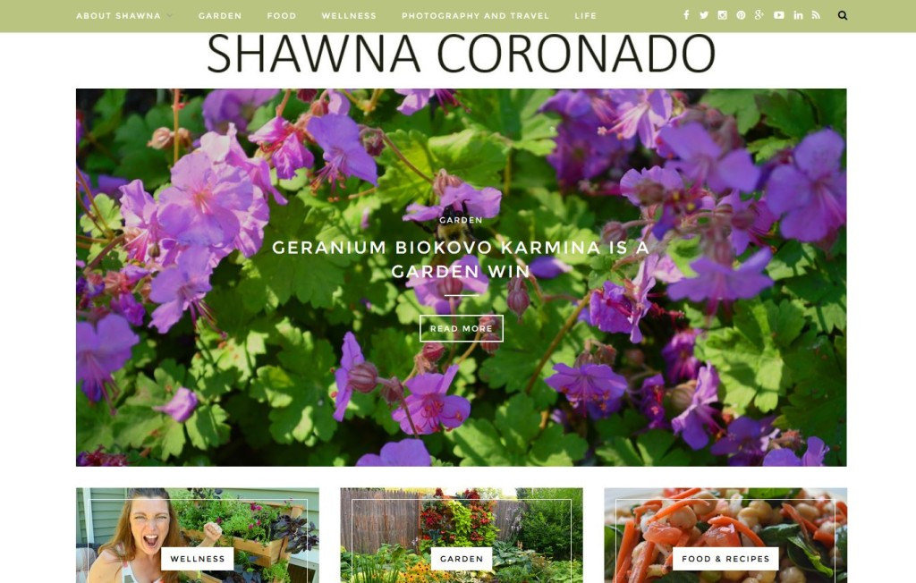 Blogger Awards 2016 Better Homes and Gardens - Shawna Coronado