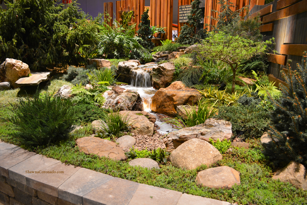 Chicago flower and garden show 2016 aquascape landscape shawna coronado for Chicago flower and garden show