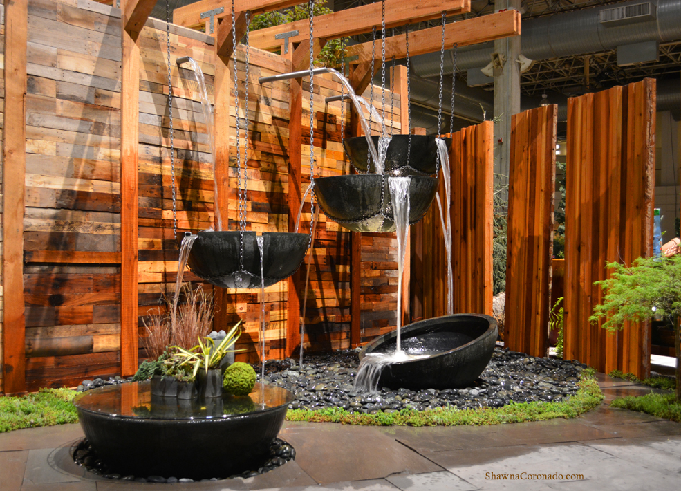 Exceptional Chicago Flower And Garden Show Aquascape Water Feature
