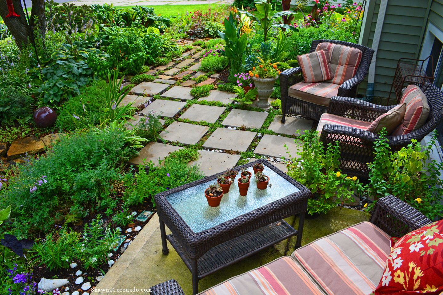 Herb and Perennial Garden Patio copyright Shawna Coronado
