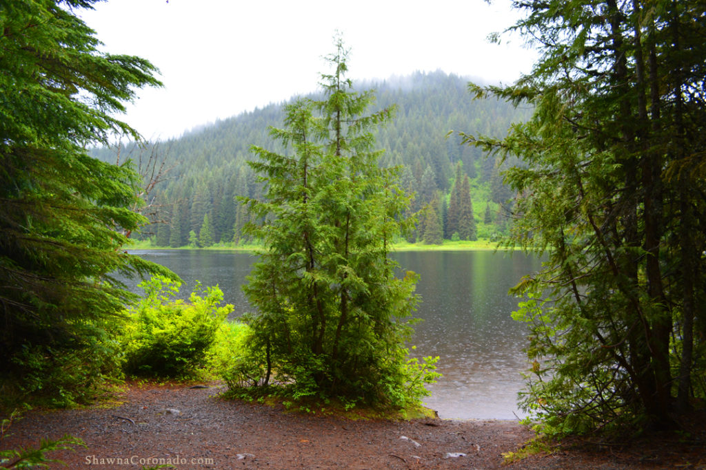 Lake Trillium on Mount Hood copyright Shawna Coronado