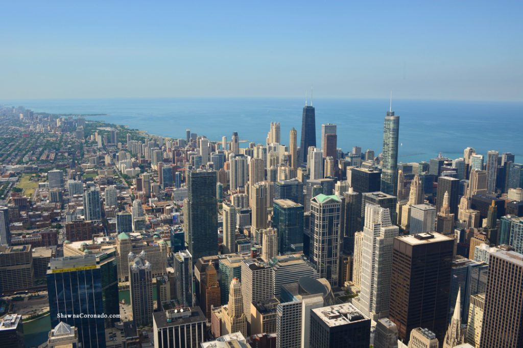 Chicago Skyline from Willis Tower.