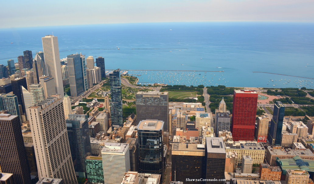 City of Chicago from Willis Tower