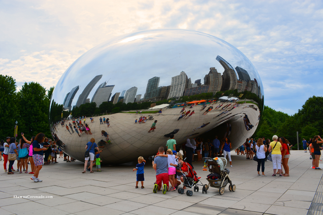 Cloudgate The Bean