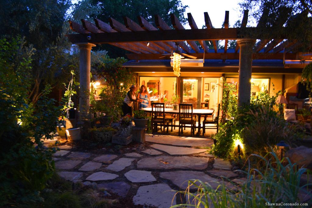 Shirley Bovshow Evening Garden