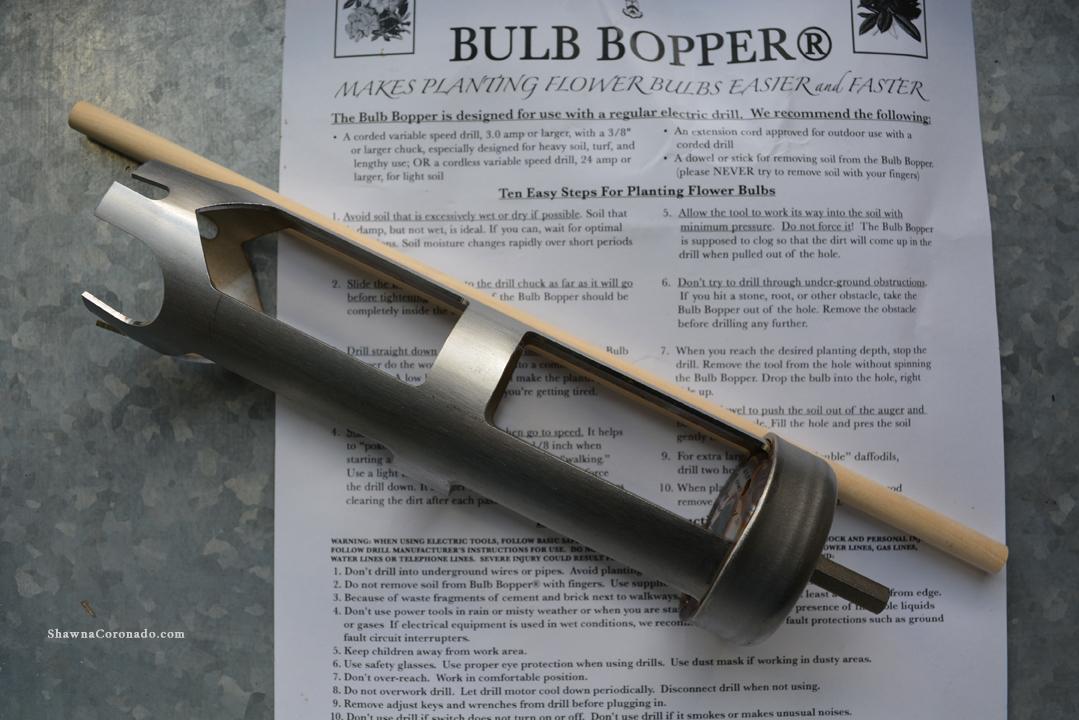 Bulb Popper Drill Tool