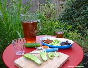 Fermob Bistro Garden Antiinflammatory Snacks Closeup