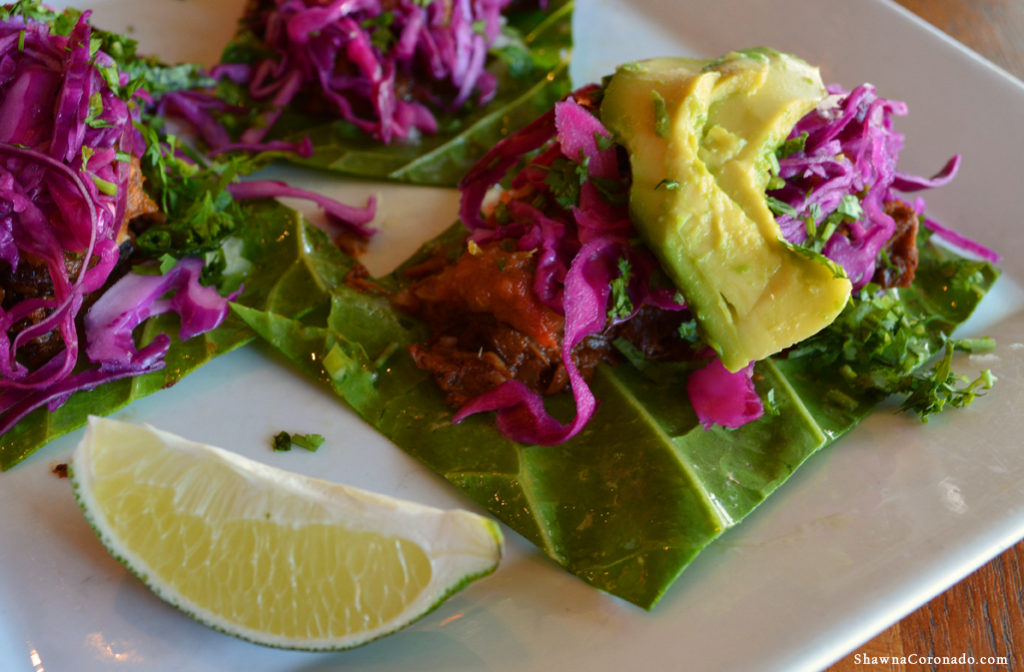 Real Food Daily Jack Fruit Street Tacos
