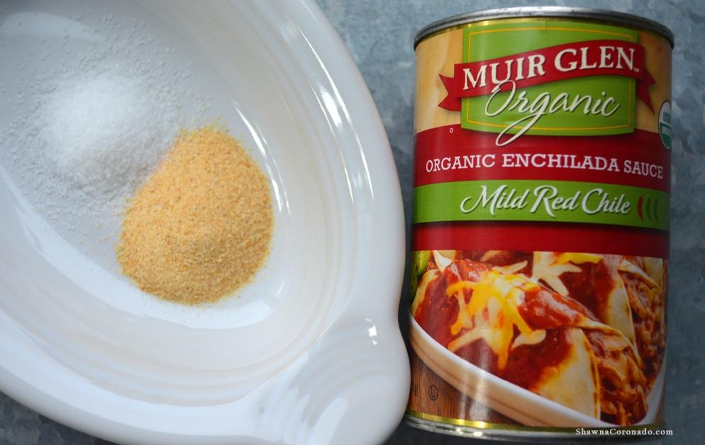 Homemade Hot Sauce Garlic and Enchilada Sauce