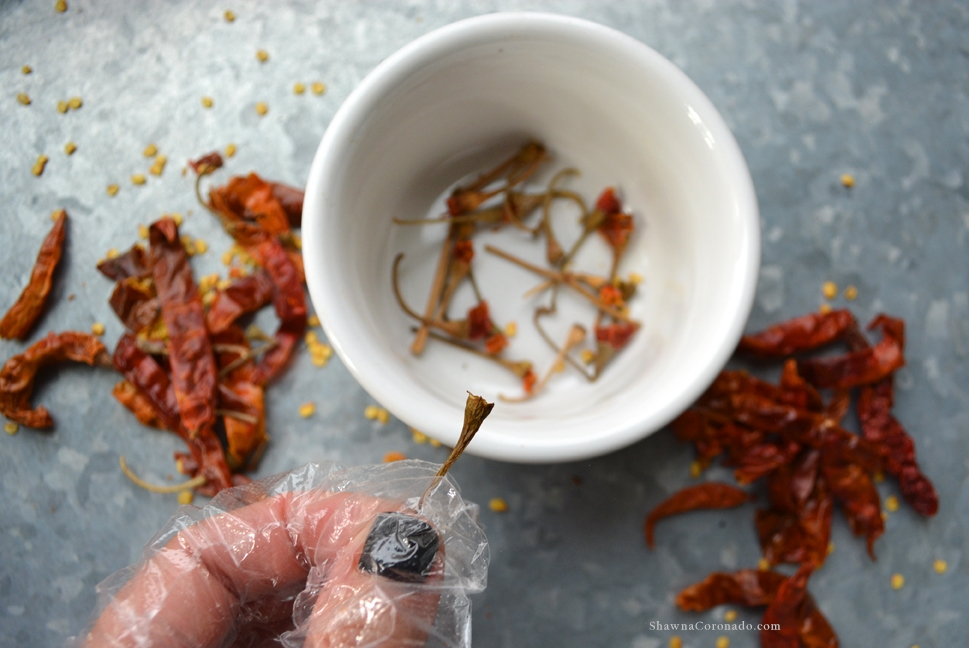 Homemade Hot Sauce Kit Dried Arbol Peppers