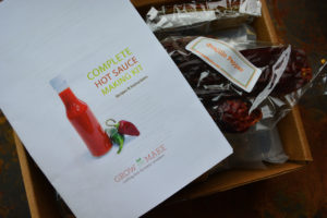 Homemade Hot Sauce Kit and Instructions