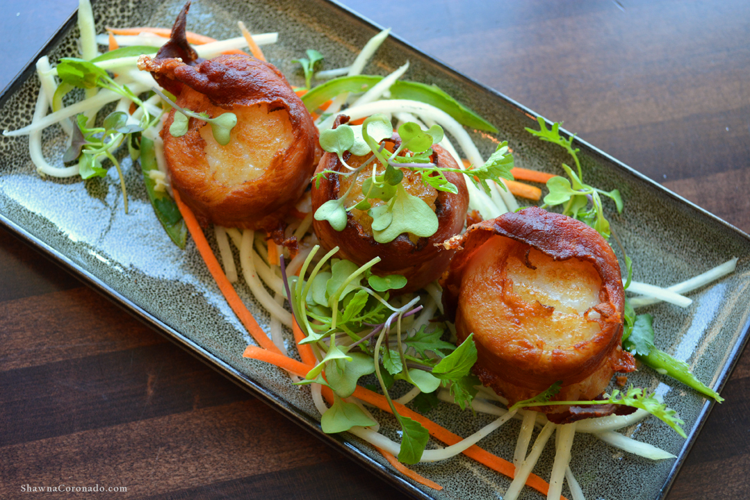 Bacon Wrapped Scallops at Biltmore Estate