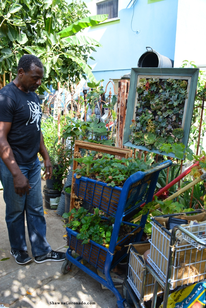 Ron Finley Reclaimed and Recycled Garden Containers